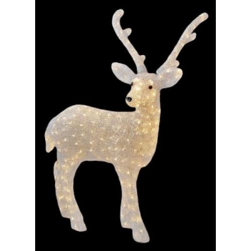 Светодиодная фигура Олень папа № 2 LED 3D арт. 31 606