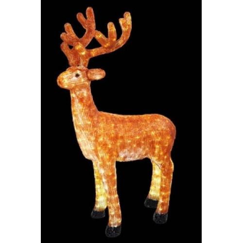 Светодиодная фигура Олень папа золотой LED 3D арт. 31 610