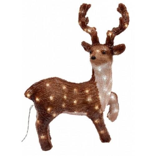 Светодиодная фигура Оленёнок пятнистый № 3 LED 3D арт. 31 615