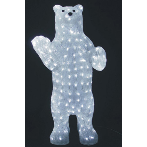 Светодиодная фигура Медведь LED 3D 70 см арт. 31 457
