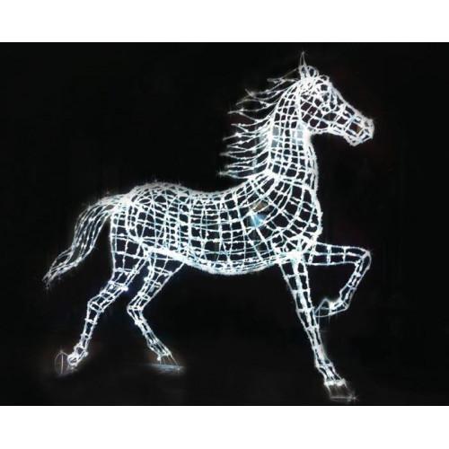 Объемная светодиодная фигура Лошадь