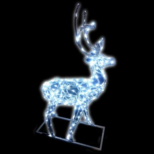 Объемная светодиодная фигура Олень