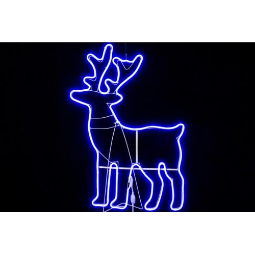 """Фигура из дюралайта """"Северный олень"""" 87 х 60 см"""
