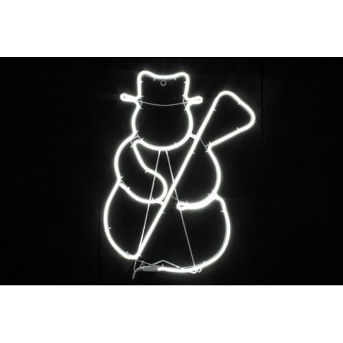 """Фигура из дюралайта """"Снеговик"""" 55см"""
