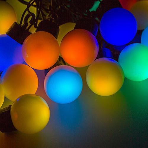 """Гирлянда уличная """"LED-Мульти"""" 10м"""