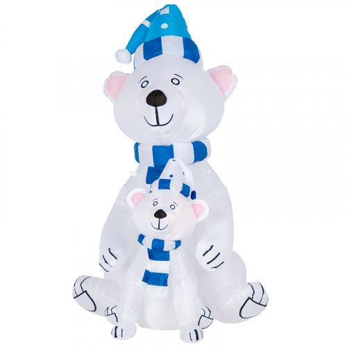 "Надувная фигура ""Медведица с  медвежонком"" 1,8 м"
