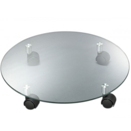 Подставка для кадки стекло круг