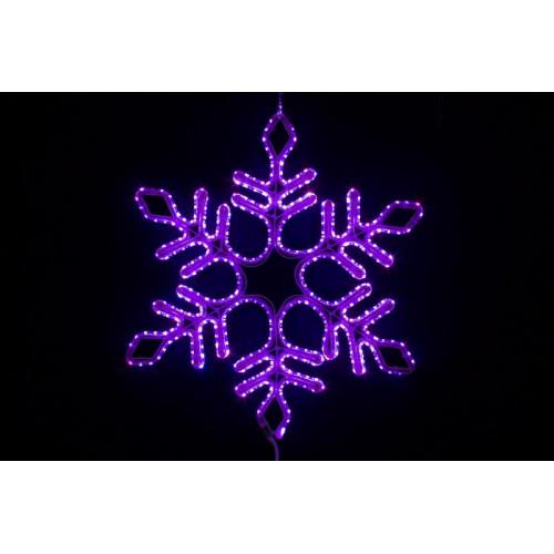 Снежинка светодиодная Мульти 57см
