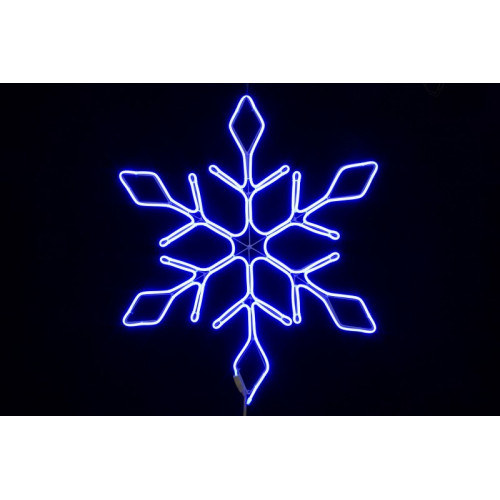 Снежинка неон 67 см