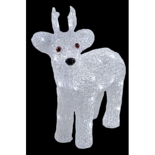 Светодиодная LED фигура Оленёнок № 2 LED 3D арт. 31 601