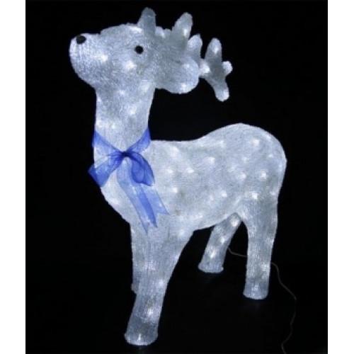 Светодиодная LED фигура Оленёнок № 3 LED 3D арт. 31 602