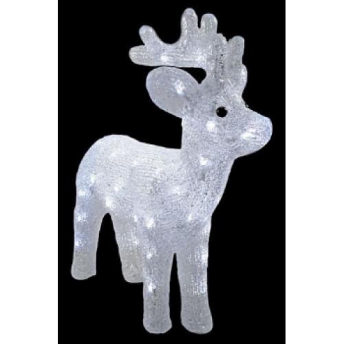 Светодиодная LED фигура Оленёнок № 1 LED 3D арт. 31 600