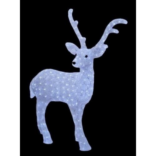 Светодиодная LED фигура Олень папа № 1 LED 3D арт. 31 605