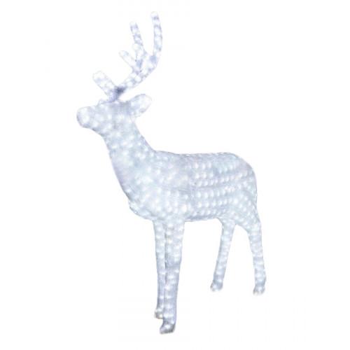 Акриловая светодиодная фигура Олень папа 160 см