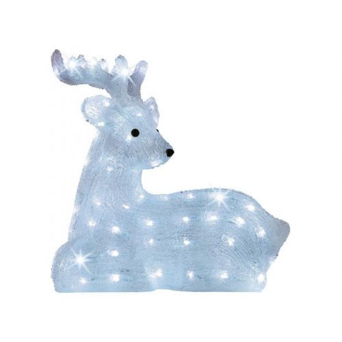 Световая LED фигура Оленёнок 39 см