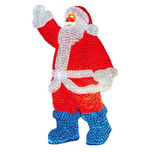 Светодиодная LED фигура Дед Мороз 210 см