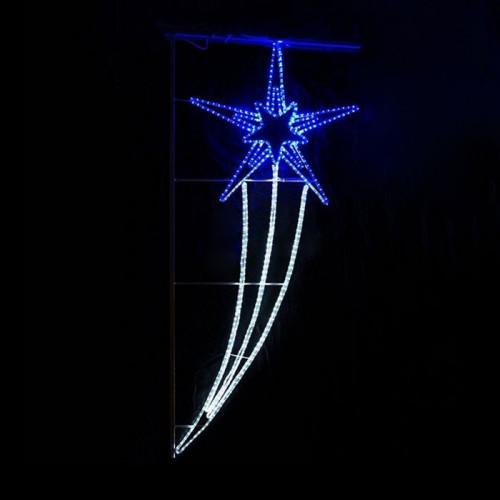 Светодиодная консоль Звезда 210х98 см