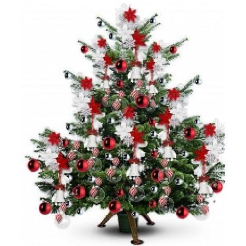 Дизайн новогодней елки 5-6 м